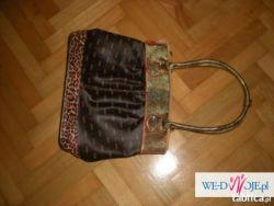 Panterka torebka mieszczaca a4