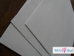 papier koperty perłowe idealne na zaproszenia ślub wesele