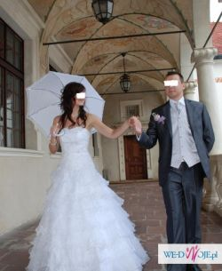 Parasol ślubny!