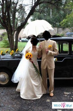 parasolka ślubna ecrue
