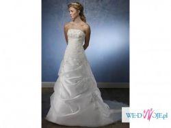 Pełowa suknia Mori Lee 4135