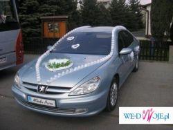 Peugeot 607 - limuzyna do ślubu - Podkarpacie