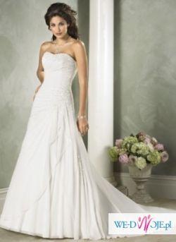 Pezpiękna elegancka suknia Maggi Soterro