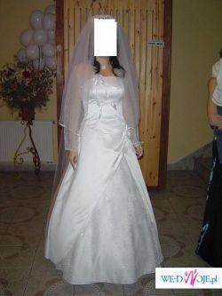 Pięka niepowtarzalna suknia ślubna stan idealny