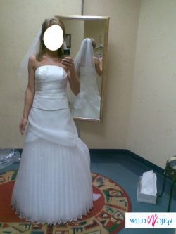 Pięka suknia ślubna z salonu Classa 34/36