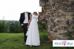 Piękan i wygodna suknia ślubna