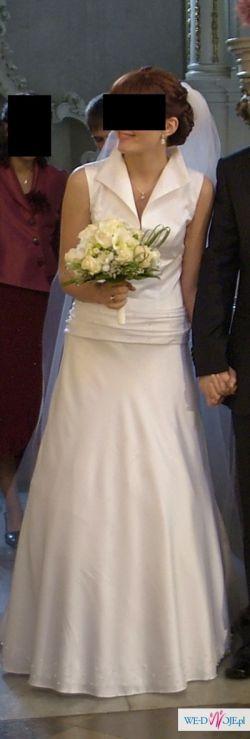 Piękan  suknia ślubna