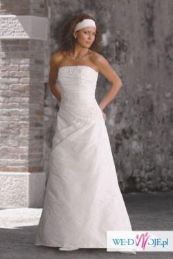 piekna biała sukienka