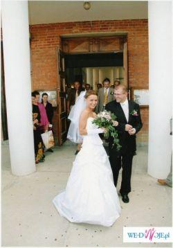 Piękna biała suknia z kolekcji Margarett