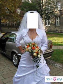 Piękna, biała suknia z kolekcji Sincerity Bridal model 3333