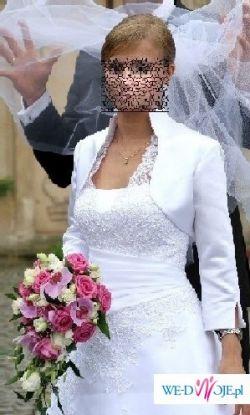 Piękna biała suknia z salonu Agora