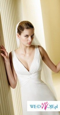 Piękna, delikatna suknia Felicidad z Madonny ;)