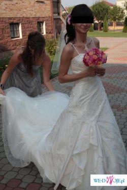 Piękna, delikatna suknia ślubna Sincerity 3315