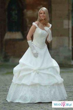 piekna dwuczęsciowa suknia Agnes