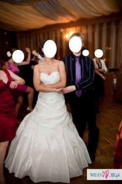 Piękna, elegancka i bardzo wygodna suknia ślubna