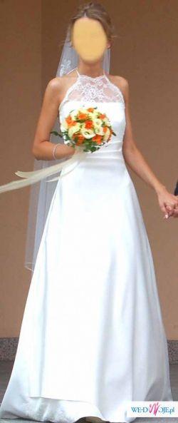 Piękna elegancka suknia model nr 68 JuliaRosa