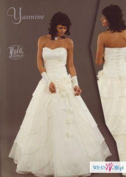 Piekna, elegancka suknia - w bardzo atrakcyjnej cenie