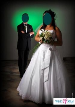 Piękna hiszpańska suknia ślubna Atelier Diagonal 818