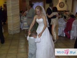 Piękna hiszpańska suknia ślubna Atelier Diagonal 819 Kolekcja 2009 !