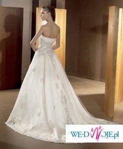 0a52b20051 Piękna Hiszpańska suknia ślubna Atelier Diagonal 819. Kolekcja 2009 ...