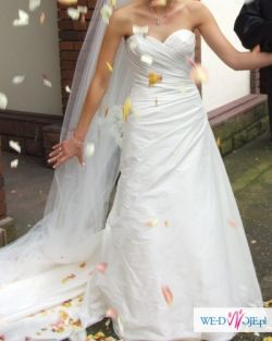 Piękna Hiszpańska Suknia ślubna Harlem Różności ślub Wesele