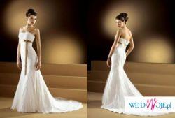 Piekna hiszpańska suknia ślubna Lugonovias