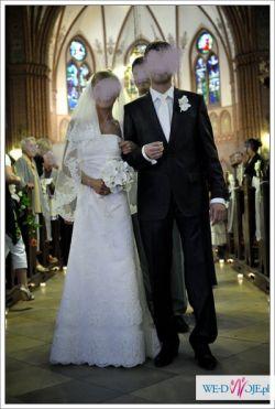 Piękna hiszpańska suknia ślubna WHITE ONE 175 z salonu MADONNA w Gdyni