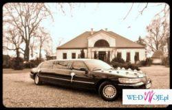 Piękna i elegancka limuzyna na ślub!