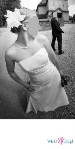piekna i klasyczna suknia slubna 36 ecri