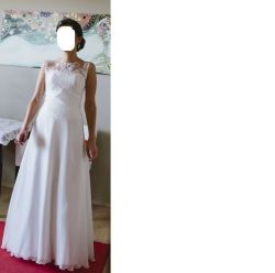 piekna i prosta suknia slubna 36-38