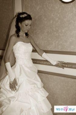 Piękna i tania suknia ślubna rozm. 38