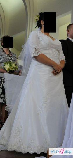 Piękna i unikalna suknia ślubna dla puszystej!!