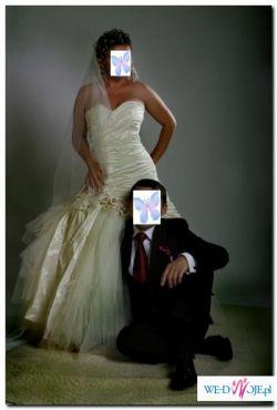 Piękna i unikatowa suknia ślubna
