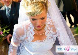 Piękna i wygodna Suknia Ślubna:)