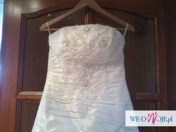 Piekna i wyjątkowa suknia ślubna