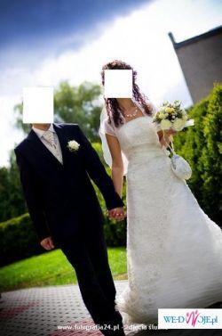 Piękna i zjawiskowa suknia ślubna firmy Classa, model C-418