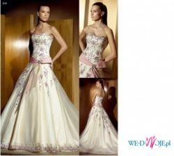 Piękna jak nowa suknia ślubna atelier diagonal 818 rozm.42