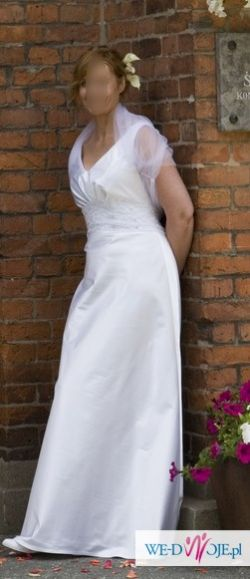 Piękna klasyczna suknia