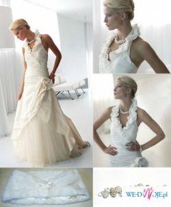 Piękna, kobieca i zmysłowa suknia Linea Raffaelli