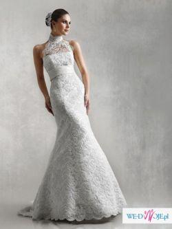 piękna koronkowa sukienka ślubna AGNES model 10225