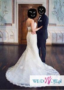 Piękna Koronkowa suknia ślubna r 36 z Salonu Madonna