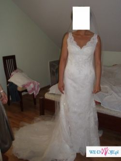 Piękna koronkowa suknia ślubna SALA kolekcja2007 La Sposa