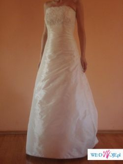Piękna kremowa suknia AGNES