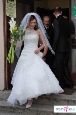 Piękna, lekka i wygodna suknia ślubna