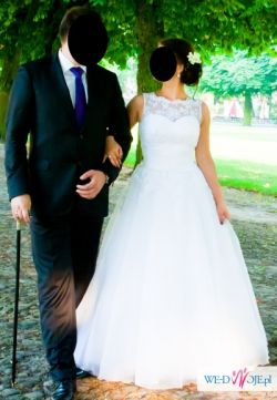 Piękna, niepowtarzalna suknia ślubna