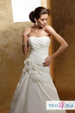 piękna nowa suknia ślubna Orea Sposa + welon GRATIS
