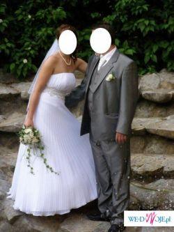 PIĘKNA PLISOWANA SUKNIA EMMI MARIAGE - ELITTE