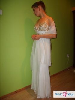 piekna romantyczna sukienka