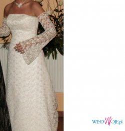 Piękna, romantyczna suknia ślubna