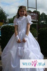 Piekna sukienka komunijna